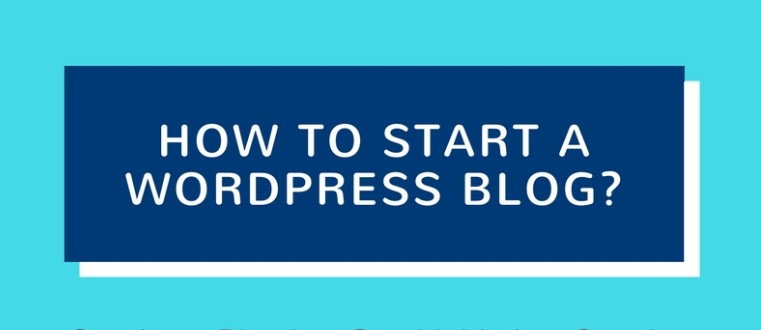Start A Blog in 5 minutes