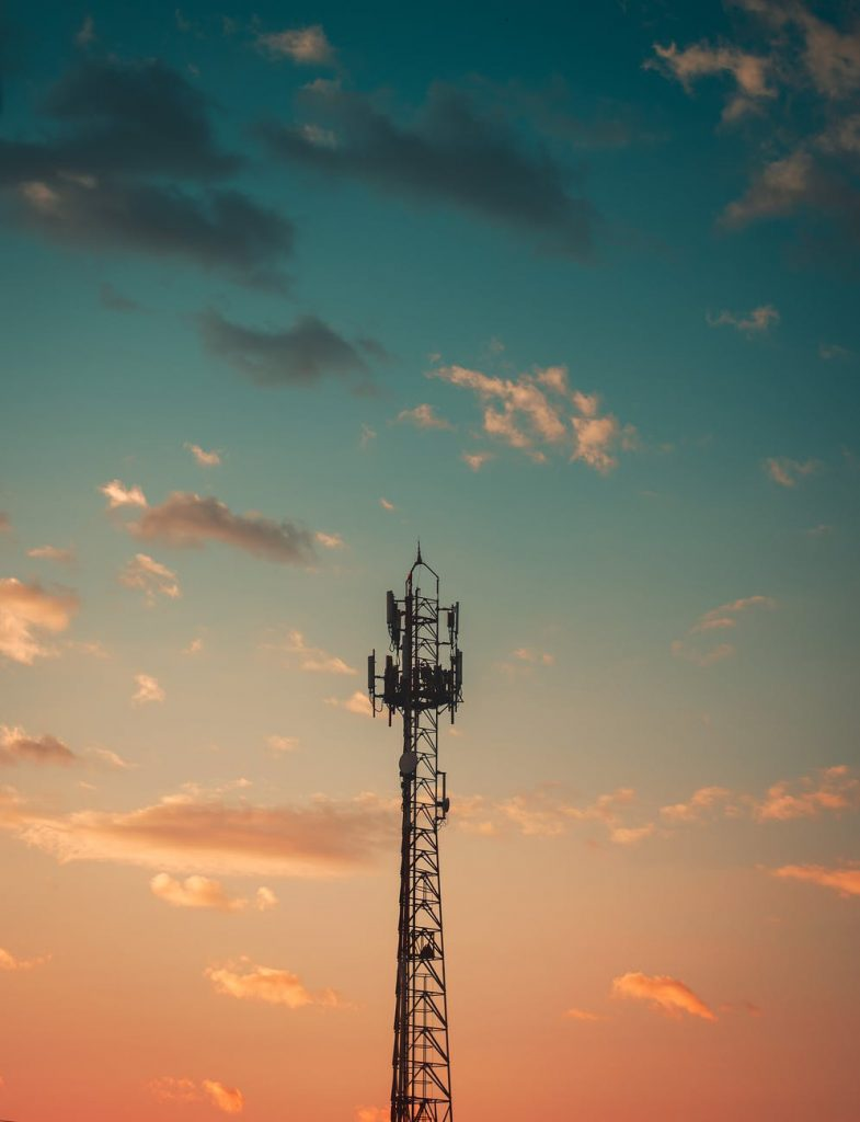 4G wireless network Tower